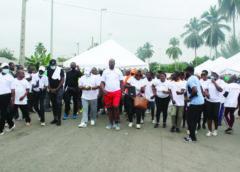 Yamoussoukro : les journalistes se font une santé avant la soirée des Ebony