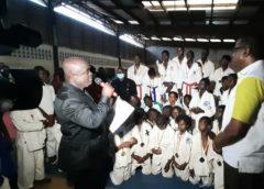 La ligue Ouest de la Fédération Ivoirienne de Karaté-Do et Disciplines Associées désormais sous l'autorité de Me Yébarth