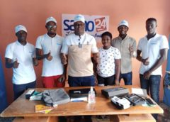 Côte d'Ivoire : La PNCI assiste à l'ouverture d'un bureau de média Samo24 non loin de Bonoua